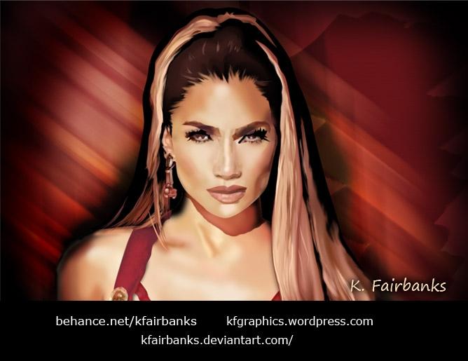 Jennifer Lopez par kfgraphics